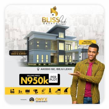 100% Dry Land with Instant Allocation with Good Road and Electricity, Few Minutes From La Campaign Tropicana Beach and Dangote Refinery, Akodo Ise, Ibeju Lekki, Lagos, Mixed-use Land for Sale
