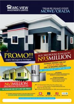 Treasure Island Estate-mowe Ofada, Treasure Island Estate, Mowe Ofada, Ogun, Detached Bungalow for Sale