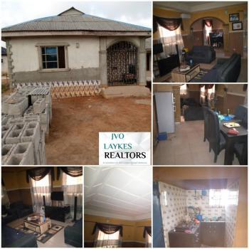 Neatly Built a 2 Bedroom Bungalow on Half Plot of Land 30 By 120 Land., Ishaga-sokoto Road Axis, Atan Ota, Ado-odo/ota, Ogun, Detached Bungalow for Sale