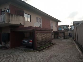 Well Structured 4 Bedroom Semi Detached Duplex and 2 Room Bq, Off Adisa Bashua Street, Adelabu, Surulere, Lagos, Semi-detached Duplex for Sale