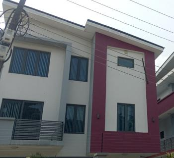 Four (4)-bedroom Detached Town House+ Bq, Ikeja Gra, Ikeja, Lagos, Detached Duplex for Rent