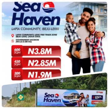 Estate Land, Sea Haven Estate, Lapia Community, Eleko, Ibeju Lekki, Lagos, Residential Land for Sale