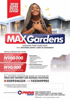 Affordable Plot of Land, Port Harcourt, Rivers, Residential Land for Sale
