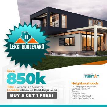 Land, Lekki Boulevard Estate, Ibeju Lekki, Lagos, House for Sale