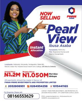 Luxurious Estate, Pearl View, Ibusa, Asaba, Delta, Mixed-use Land for Sale