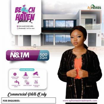 Land with C of O in View in a Serene Location, Beach Haven Estate at Solu Alade, Eleko, Ibeju Lekki, Lagos, Commercial Land for Sale
