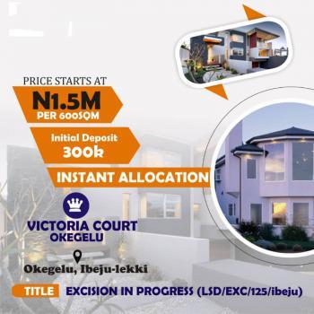 Affordable Gated Estate Land Facing The Road, Royal Flex Estate, Okegelu, Lekki Free Trade Zone, Siriwon Town, Ibeju Lekki, Lagos, Mixed-use Land for Sale