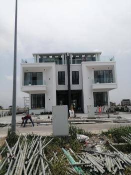 Contemporary 5 Bedroom Semi-detached House in a Serviced Estate, Spar Road, Ikate, Lekki, Lagos, Semi-detached Duplex for Sale