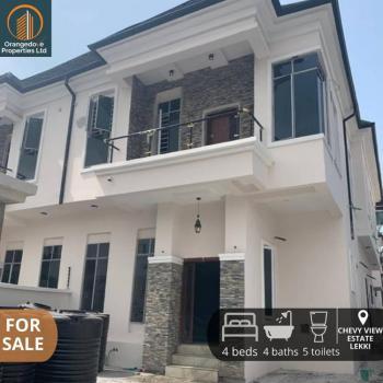 Superb 4 Bedrooms Semi Detached Duplex, Chevy View Estate, Chevron, Lekki Phase 2, Lekki, Lagos, Semi-detached Duplex for Sale