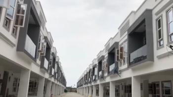 Newly Built & Serviced 4 Bedrooms Terrace + 1 Room  Bq, Victoria Bay Estate, Ajiran, Osapa, Lekki, Lagos, Terraced Duplex for Sale