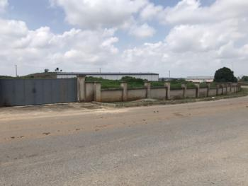 Fenced & Perfectly Nestled Industrial Landuse, Near Cummings Building, Idu Industrial, Abuja, Industrial Land for Sale