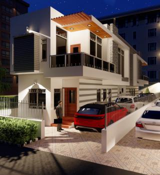 Smart 2 Bedroom Terrace Duplex with Exclusive Finishing, Beside Citiview Estate, Warewa, Berger, Arepo, Ogun, Terraced Duplex for Sale