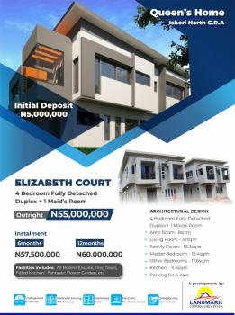Elizabeth Court- 4 Bedroom Fully Detached Duplex + 1 Maids Room, Queens Home Inside Queens Park Estate, Orile, Mowe Ofada, Ogun, Mini Flat for Sale