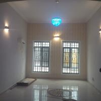 Brand New Luxury 2 Bedrooms Serviced Terraced Duplex with Bq, By Custom Quarters/ Nextmall Junction, Kado, Abuja, House for Rent