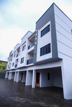 Newly Built 4 Bedroom Terrace with a Bq and a 20kva Gen, Opebi, Ikeja, Lagos, Terraced Duplex for Sale