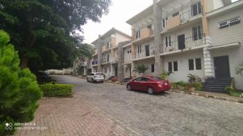 Luxurious Serviced 5 Bedroom Duplex with Attached Bq, Guzape District, Abuja, Terraced Duplex for Rent