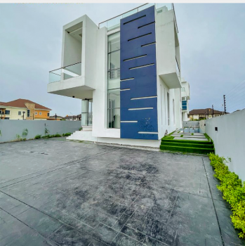 Luxury 5 Bedroom Automated Home with Excellent Facilities, Pinnock Beach Estate, Osapa, Lekki, Lagos, Detached Duplex for Sale