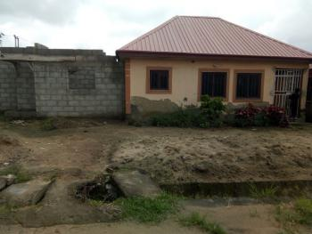 3 Bedroom Detached Bungalow with  Carcass Self Contained Attachment., Efab Police Estate Dakwa Dei Dei, Dei-dei, Abuja, House for Sale