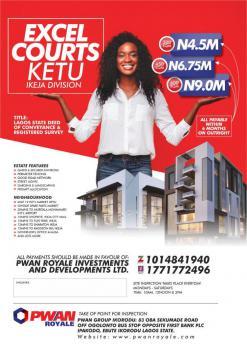 Dry Land in an Estate, International Market, Mile 12, Kosofe, Lagos, Mixed-use Land for Sale