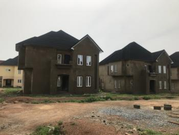 4 Bedrooms Fully Detached Duplex Carcass with Detached Bq Space, Karsana, Abuja, Detached Duplex for Sale