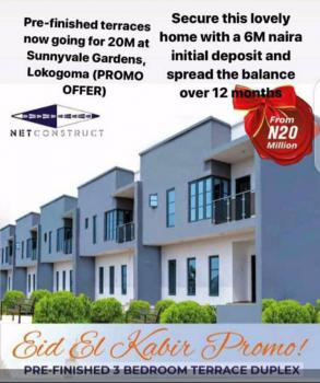 Luxury 3 Bedroom Terrace Duplexes, Sunnyvale Garden Estate, Lokogoma District, Abuja, Terraced Duplex for Sale