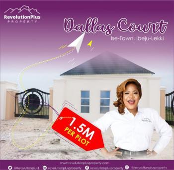Promo Price Land, Dallas Court, Folu Ise, Ibeju Lekki, Lagos, Residential Land for Sale