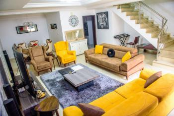 Nicely Fully Furnished 4 Bedrooms Terraced Duplex, Life Camp, Abuja, Terraced Duplex Short Let