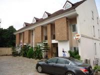 Two Units of Four (4) Bedroom All En Suite Terrace Duplex, Maman Nasir Street Off Nelson Mandela Street, Asokoro District, Abuja, Terraced Duplex for Sale