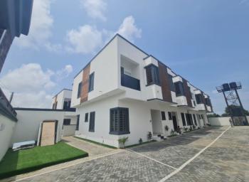 Luxury 3 Bedroom Terrace Duplex in a Quiet Neighborhood with Bq, Beside Abraham Adesanya, Lekki Phase 2, Lekki, Lagos, Terraced Duplex for Sale