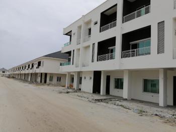 3 Bedroom Terrace Duplex with 24 /7 Power, 5mins Drive From Novare Mall Shoprite, Meridian Park Estate, Sangotedo, Ajah, Lagos, Terraced Duplex for Rent