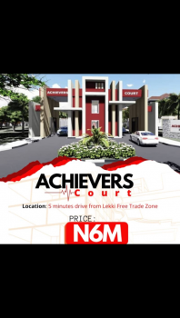 Cheapest, Dry C of O Land, Achievers Court, Osoroko, Ibeju Lekki, Lagos, Residential Land for Sale