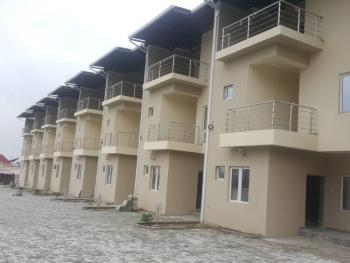 Newly Built Specious 4 Bedroom Terraced Duplex with a Room Bq, Life Camp, Abuja, Terraced Duplex for Rent