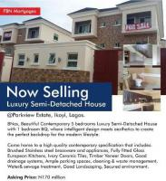 8 Units Of 5 Bedroom Semi Detached House For Sale In  For Sale In Parkview Estate, Parkview, Ikoyi, Lagos, 5 Bedroom House For Sale