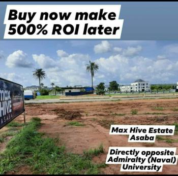 Affordable Plots of Land, Max Hive Estate Is Directly Opposite Admiralty University, Ibusa, Oshimili North, Delta, Land for Sale