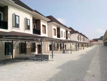Serviced 4 Bedroom Semi Detached Duplex with a Room Bq, Ikota Villa Estate, Ikota, Lekki, Lagos, Semi-detached Duplex for Rent