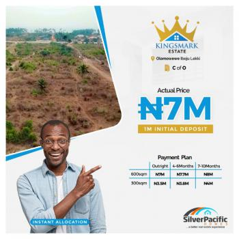 Kings Mark Estate, Olomowewe Community, Akodo Ise, Ibeju Lekki, Lagos, Mixed-use Land for Sale