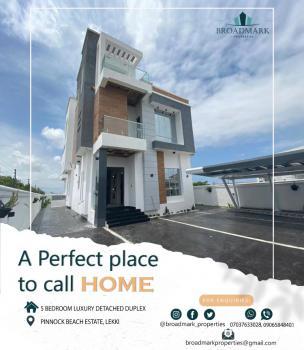 5 Bedroom Luxury Detached Duplex, Pinnock Beach Estate, Osapa, Lekki, Lagos, Semi-detached Duplex for Sale