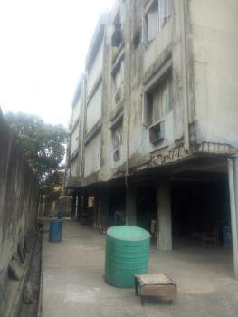 Dilapidated Building of Block with  6 Flats with Bq, Johnson Street., Bode Thomas, Surulere, Lagos, Block of Flats for Sale