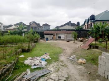 Well Located Vast Three Plots of Fenced Land in a Well Secured Estate, Doxa, Peter Odili Road, Trans Amadi, Port Harcourt, Rivers, Residential Land for Sale