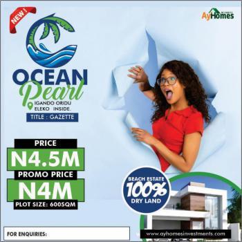 Estate Land, Eleko Junction .estate Ocean View, Eleko, Ibeju Lekki, Lagos, Residential Land for Sale
