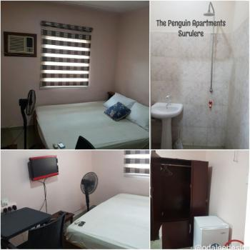 Comfortable Short Stay  Appartment, 14 Adebola Street, Off Adenuran Ogunsanya, Adeniran Ogunsanya, Surulere, Lagos, Self Contained (single Rooms) Short Let