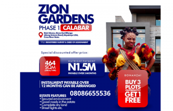 Estate Land Available, Along Unicem Road, Calabar, Cross River, Residential Land for Sale