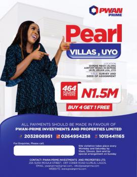 Plot of Land, Pearl Villa Estate, Ekpene Mboh Along Airport Road, Uyo, Akwa Ibom, Residential Land for Sale