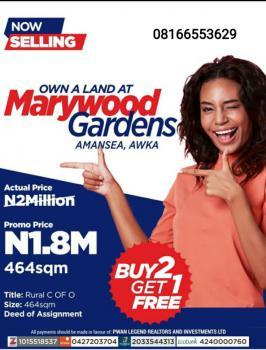 Plot of Land, Mary Wood Garden, Awka, Anambra, Mixed-use Land for Sale