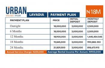 1 Bedroom Apartment, Abraham Adesanya,  Lavadia [urban Prime Four Estate], Ajah, Lagos, Block of Flats for Sale