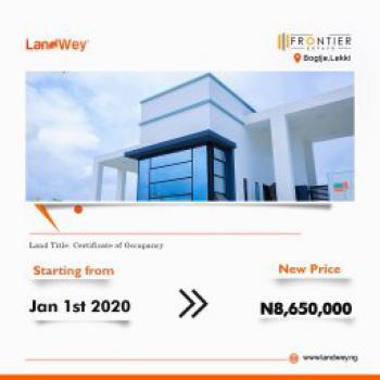 Commercial Land with Government Approved Excision, Caritas Luxury Homes Along Costal, Eleko, Ibeju Lekki, Lagos, Commercial Land for Sale