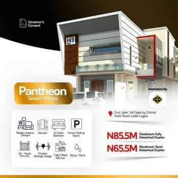 4 Bedroom Semi Detached Duplex, Chevron, Agungi, Lekki, Lagos, Semi-detached Duplex for Sale