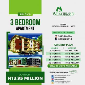 Brand New 3 Bedroom Flat, Tarred Road, Oribanwa, Ibeju Lekki, Lagos, Mini Flat for Sale