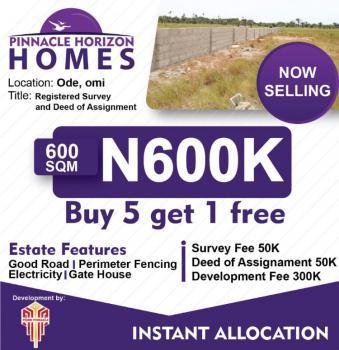 Dry Land, ️pinnacle Horizon Homes, Ode-omi, Few Mins to Dangote Jetty, Eleko, Ibeju Lekki, Lagos, Mixed-use Land for Sale