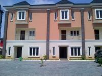 Brand New Four Bedroom Terrace In A Mini Estate, Osapa, Lekki, Lagos, 4 bedroom, 5 toilets, 4 baths House for Rent